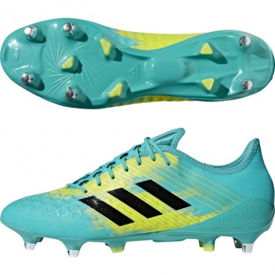 Chaussures Predator Malice Control SG 18 Adidas turquoise noir jaune