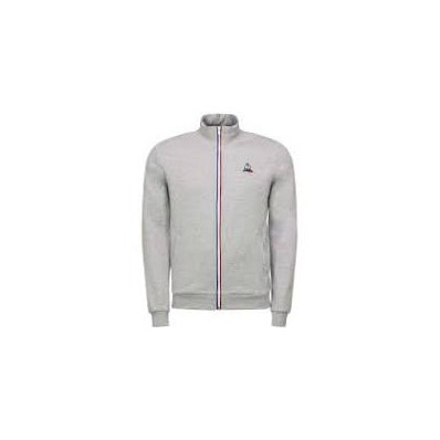 ESS FZ Sweat N°2 M gris chiné clair