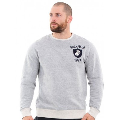 SWEAT COL ROND Gris chine ruckfiekd 5222