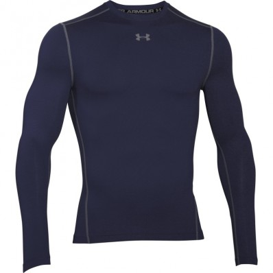 Tee shirt Crew Armour Compression ColdGear® LS Under Armour marine