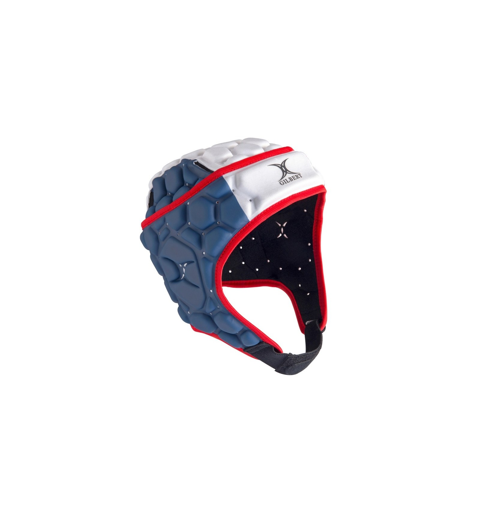 Casque rugby France Falcon 200 Gilbert bleu blanc rouge