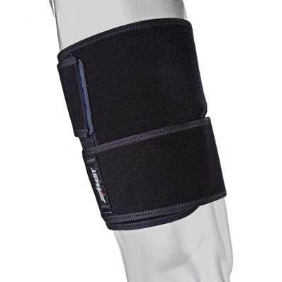 Bandage musculaire TS-1 Compressif cuisse Zamst noir