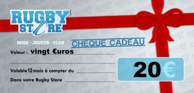 Bon d'Achat RUGBY STORE 20 €